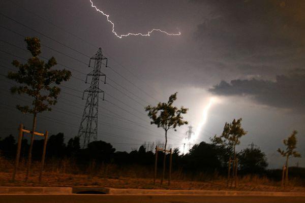 De violents orages devraient s'abattre sur le département du Lot dans la nuit du 23 au 24 juillet. (photo d'illustration)