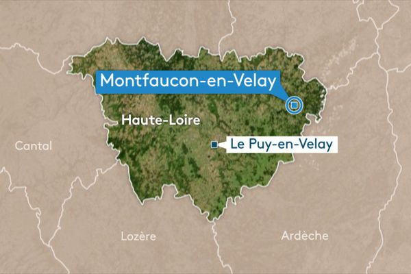 Un automobiliste s'est tué dans un accident de la route vers Montfaucon-en-Velay, en Haute-Loire, dans la matinée du 13 février.