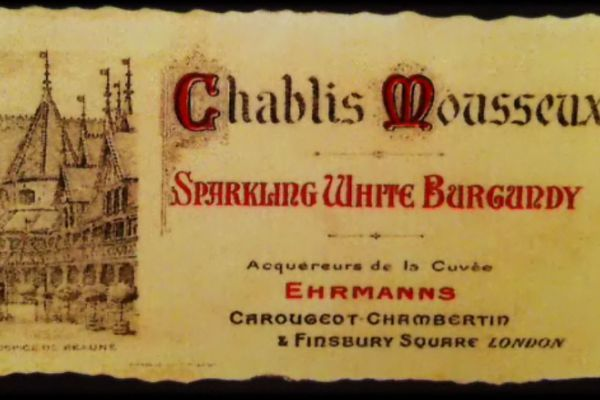 """Les vins de crémant à l'époque s'exportaient beaucoup, sous le nom de """"sparkling wines"""""""