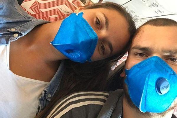 Théo et Lucie ont enfin réussi à rentrer en France