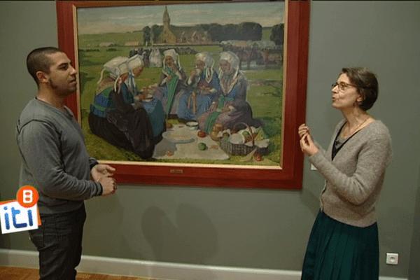 Visite guidée du musée des Beaux-Arts de Rennes avec sa conservatrice Laurence Imbernon.