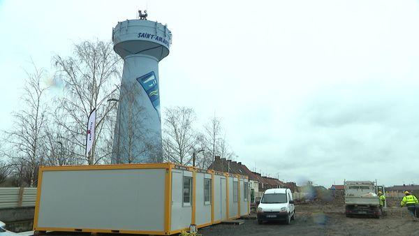 Le chantier de construction d'un nouvel Ehpad à Saint-Amand-les-Eaux a débuté la semaine dernière.