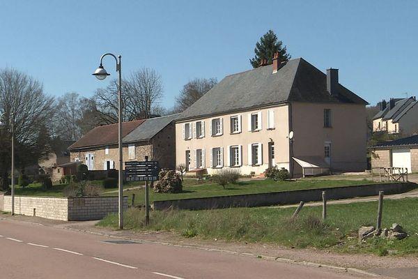 Le village de Montsauche-les-Settons, dans le Morvan