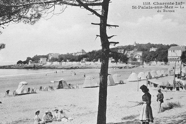 La plage du Bureau à St-Palais-sur-Mer
