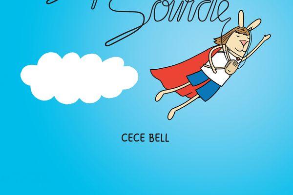 """La couverture du roman graphique """"Super sourde"""""""