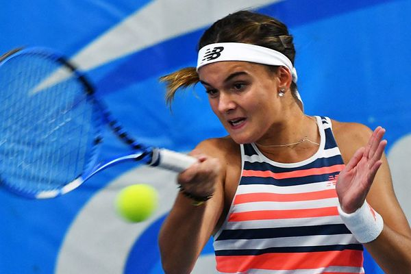 La lannionaise Clara Burel lors de la finale de l'Open Engie féminin