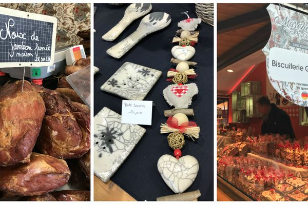Spécialités régionales et produits artisanaux locaux à retrouver au marché de Noël de Mulhouse