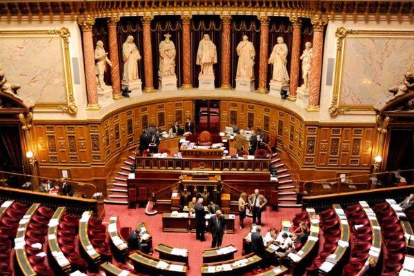 L'hémicycle du Sénat (Archives)