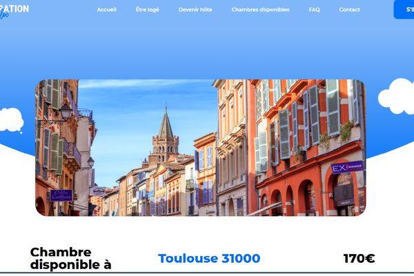 Capture d'écran d'une annonce du site generation-coloc.fr