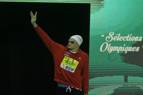 Yannick Agnel ne devrait pas pouvoir défendre son titre olympique à Rio.
