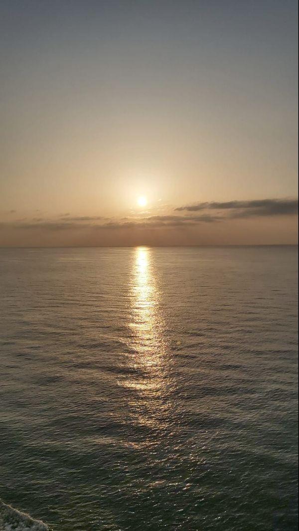 Soleil et mer à bord du Costa Deliziosa