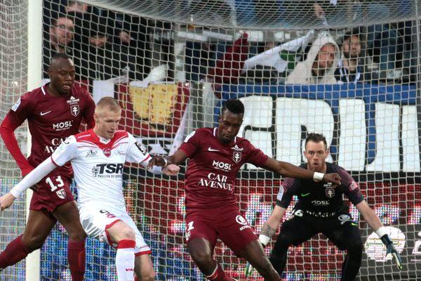 Valenciennes enchaîne un cinquième match sans victoire