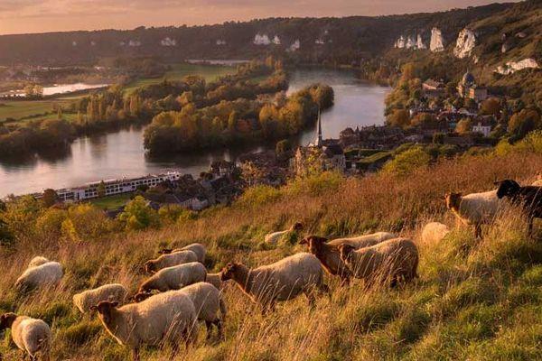 Dans l'Eure, la Vallée de Seine et les Andelys bénéficieront des températures les plus généreuses de ce samedi : 19° voire localement davantage.