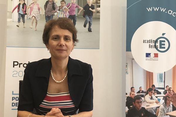 La rectrice de l'Académie de Reims, Agnès Walch Mension-Rigau, a tenu à rassurer lors de sa conférence de rentrée du 28 août 2020