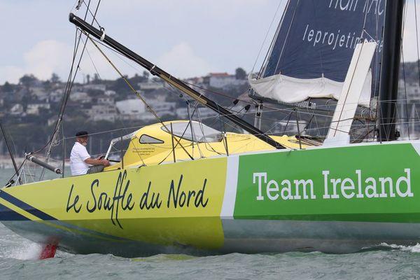 """L'association et """"Team Ireland"""" s'étaient associés pour achever le (re)Tour du Monde."""