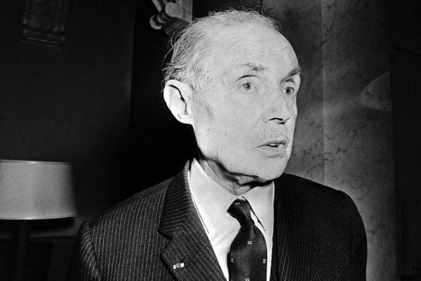 Maurice Genevoix en 1970.