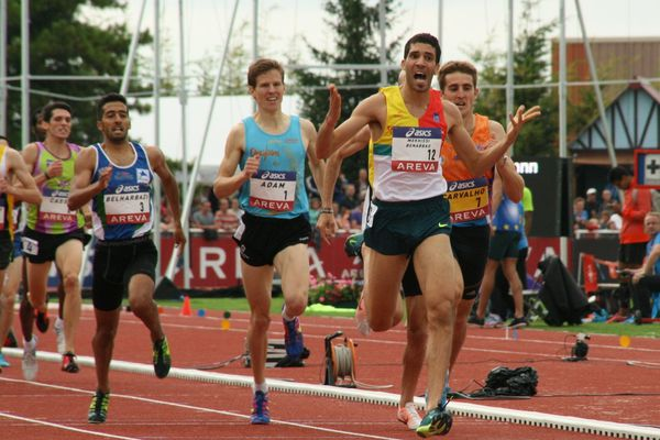 Mahiedine Mekhissi Benabbad - 1500m (12/07/2014) - Reims