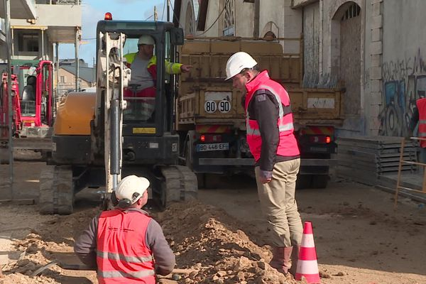 Les travaux de renouvellement des réseaux font partie des interventions fréquentes pour les entreprises des travaux publics.