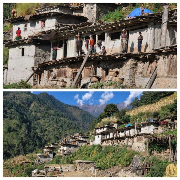 Près de la frontière avec l'Inde, le village népalais de Karanga est très isolé