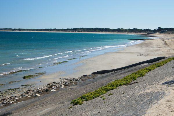 L'île de Ré en Charente-Maritime.