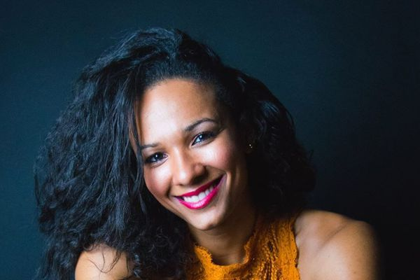 La chanteuse Ivaanyh