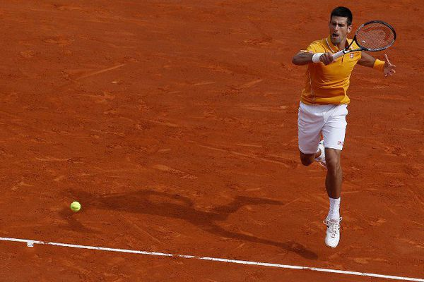 Novak Djokovic, impressionnant de solidité.