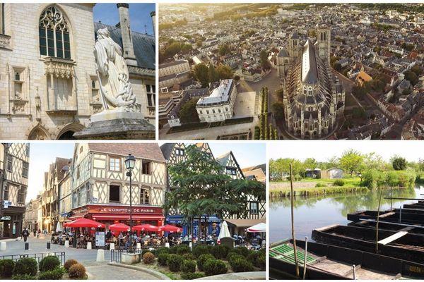 Parmi les atouts culturels de Bourges, le palais Jacques Coeur, sa cathédrale, ses maisons à colombage de la place Gordaine.