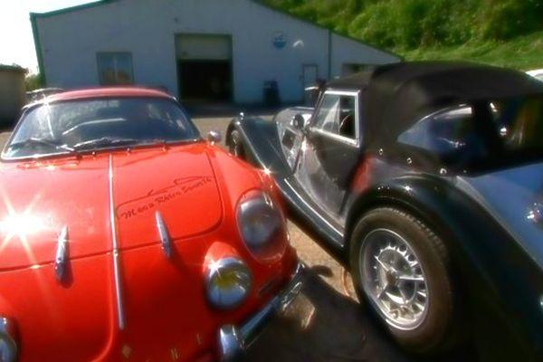 La restauration d'Alpine est une des spécialités de ce garage près de Dieppe