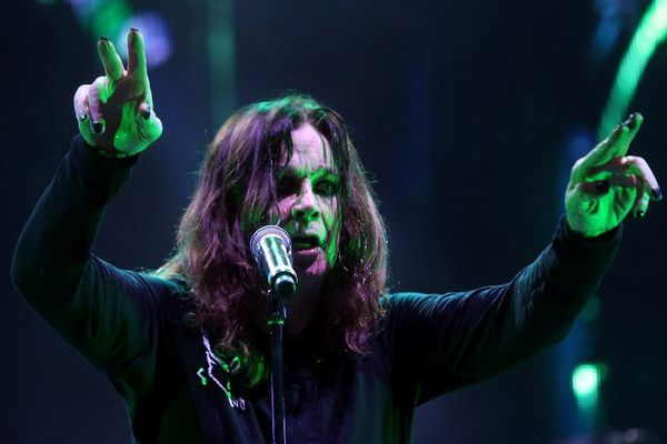 Ozzy Osbourne des Black Sabbath