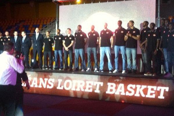 Orléans Loiret Basket, équipe 2014 - 2015