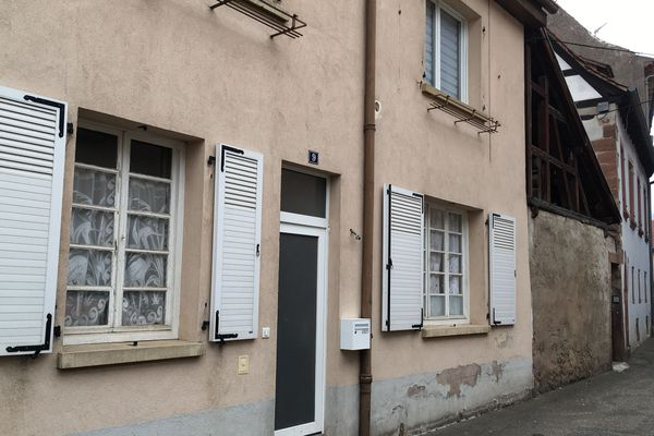 L'opération de police a eu lieu rue Neuve, à Wissembourg.