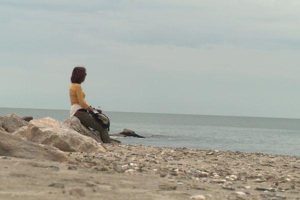 Regarder l'horizon, un privilège redevenu possible pour les héraultais en ce premier samedi de déconfinement à Palavas.