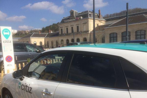 Citiz propose deux véhicules en autopartage à Bar-Le-Duc (Meuse).
