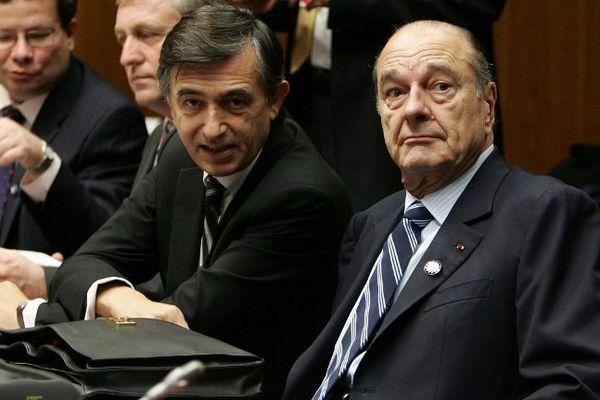 Philippe Douste-Blazy, alors ministre des Affaires Etrangères de Jacques Chirac