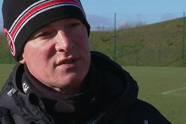 Sébastien Hamel, entraîneur des gardiens du Stade de Reims / janvier 2018