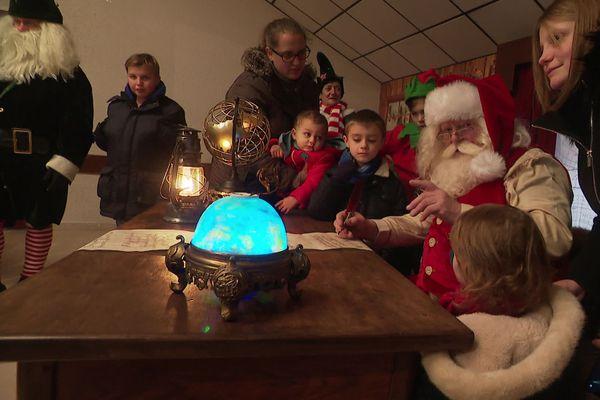 L'an dernier, le Père Noël avait pu se rendre à Villers-la-montage.