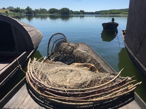 Dominique Chauvreau conserve les engins de pêche de ses ancêtres pêcheurs