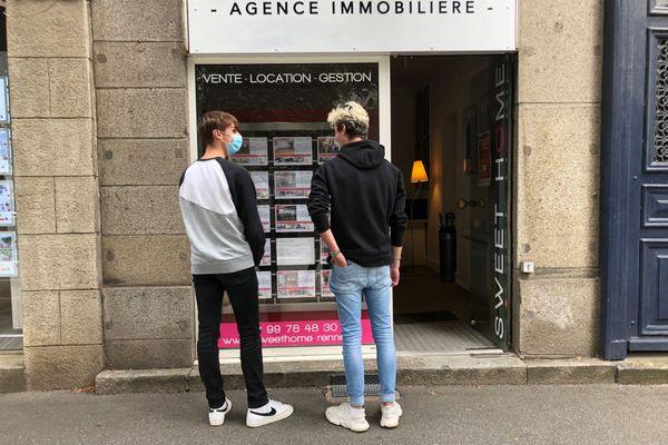 Trouver un logement étudiant à Rennes pour la rentrée 2021 en ce mois de juillet, une mission quasi impossible pour ces deux étudiants normands