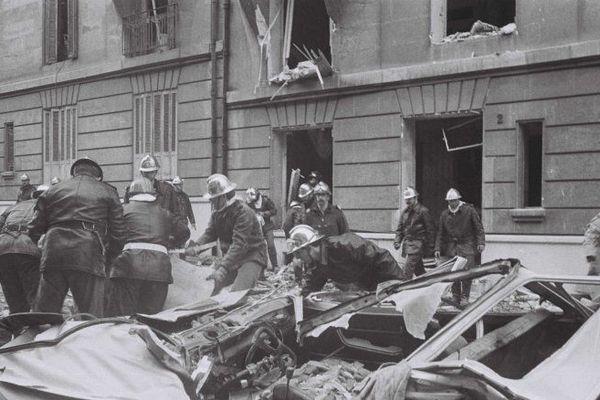 La double explosion au gaz  du Boulevard Périer a fait 6 morts et 40 blessés.