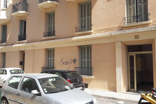 L'appartement rue Favalelli où a eu lieu l'agression