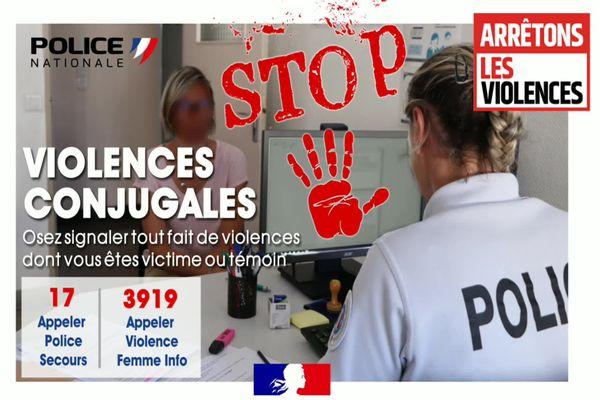 Campagne de lutte contre les violences conjugales dans la Drôme