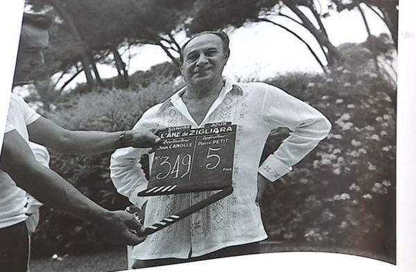 Photographie de Tino Rossi prise par François Desjobert.