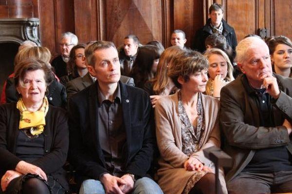 La famille de Pierre Nasica présente depuis le début du procès à toutes les audiences
