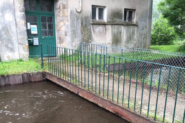 L'Essonne en crue.