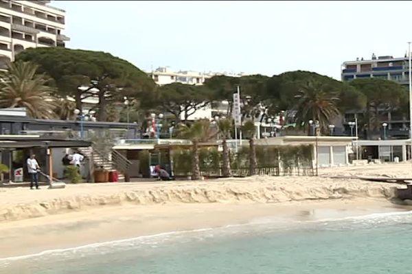 Neuf restaurants de plages seront bientôt détruits à Juan-les-Pins.