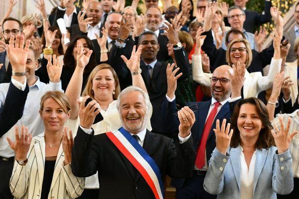Le nouveau conseil municipal de Dijon sorti des urnes le 28 juin 2020 a été installé samedi 4 juillet.