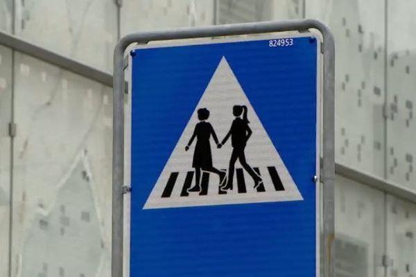 250 nouveaux panneaux de signalisation montrant 6 types de femmes ont fait leur apparition à Genève.