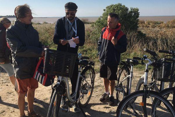 Sur l'île Madame, les cyclistes remplacent les automobilistes.