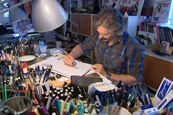 Un dessinateur tropézien, passionné de bateau, vient de signer une bande dessinée