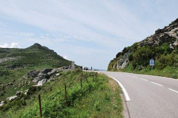 C'est sur cette route, qui mène au Nebbiu, qu'ont eu lieu les deux accidents